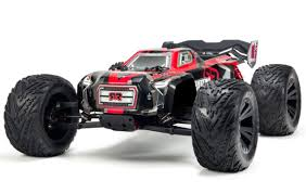 Arrma 1/8 Kraton 6S BLX 4WD RC Speed Monster Truck Red 96kph+