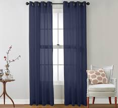 Blue Sheer Curtains 96 by Curtain Sheer Grommet Sheer Curtains Over 96 Option Sheer Grommet