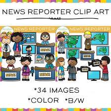Journalist Clipart News Interview