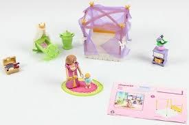 playmobil 6851 himmlisches schlafzimmer königin und baby