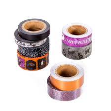 Halloween Washi Tape Ideas by Find The Martha Stewart Happy Halloween Washi Tapes At Michaels
