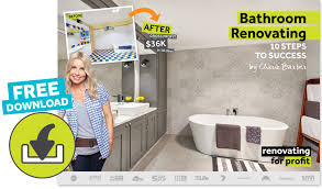 how to easily plan project your bathroom renovation with