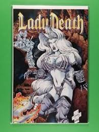 Image Is Loading Lady Death The Odyssey 2 Chaos May 1996