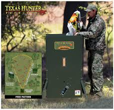 New Hide A Way Stand & Fill Directional Feeders Texas Hunting