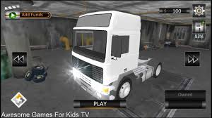 100 Truck And Trailer Games Heavy Cargo Euro Sim 2018 Game For Kids Videos