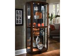 pulaski furniture curios pacific heights curio cabinet baer s