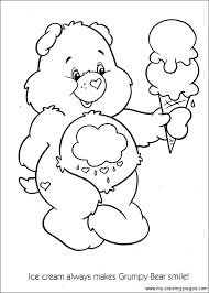 Care Bears Coloring Pages Printable 16 Bear Images