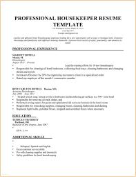 Communication Skills For Resume Custom Housekeeping Objective