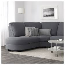 tidafors corner sofa with arm right hensta grey ikea