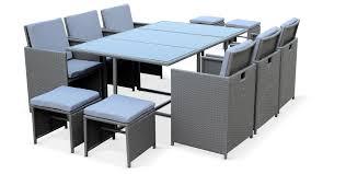 tables de jardin en resine table de jardin résine tressée chaise jardin bois trendsetter