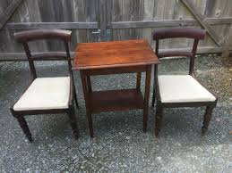 VINTAGE OLD ANTIQUE MAHOGANY BAR BACK CHAIRS AND OAK TABLE | In Tavistock,  Devon | Gumtree Tripp Trapp The Chair That Grows With The Child Official Demo Antique High Chair Set Of 4 Old Oak Chapel Chairs More Available Delivery Poss Also Urch Pews Benches Table In Wickham Hampshire Gumtree Old Oak Fireside Babybjorn For Baby From 6 Months To 3 Years How Find Best Wooden Olla Kids Highchair Tray Antilop Silvercolour White Vintage Homestoreva Victorian Chairrocker Oldtime Carl Hansen Ch24 Wishbone Beech Deep Burgundy Natural Wickerwork Birthday Edition Stokke Steps Bundle White