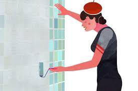 wie tapeziere ich im badezimmer tapezieranleitungen