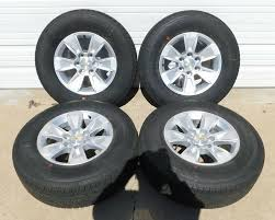 100 Oem Chevy Truck Wheels 2019 Chevy Silverado Suburban Tahoe 17 Wheels Tires Oem 23377010