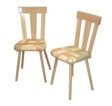 2 x massivholzstühle buche natur stoff beige terra esszimmerstühle stuhlset