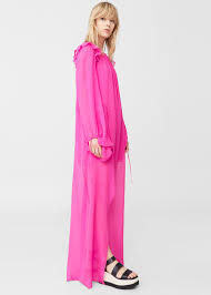100 silk dress woman mango united kingdom