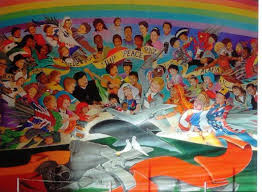 Denver International Airport Murals Painted Over by Denver Airport Creepypasta Wiki Fandom Powered By Wikia