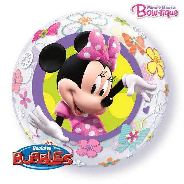 Qualatex Minnie Mouse Bubble Balloon