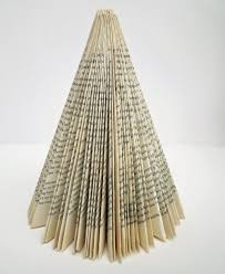 Christmas Tree Books by Inky Dinky Doodle Funky Christmas Tree Made From Book Pages