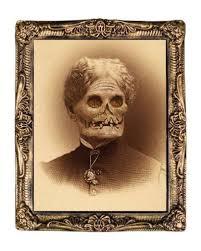 Carnival Scene Setters Halloween hologram portrait zombie grandmother 38 x 51 cm halloween