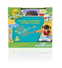 Crayola Bathtub Crayons 18 Vibrant Colors by Amazon Com Crayola Beginnings Color Me A Song Toys U0026 Games