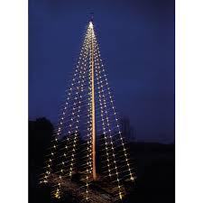 Flagpole Lights Tree