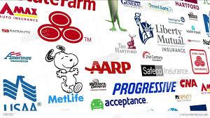 REVERSE Auto Insurance Logo Loop Stock Animation