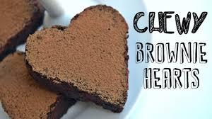chewy chocolate brownie hearts recipe easy healthy vegan