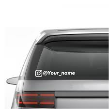 CUSTOM INSTAGRAM USERNAME IG • STICKERS / DECALS Product Anime Dragonball Dragonballz Goku Supersaiyan 4 Rear Car Decal Window Sticker Graduation Gift Just Married Window Decal 3 Personalized With Two Hearts 9 Best Hunting Decals For Trucks Images On Pinterest Vinyl Lovely Custom Canada Northstarpilatescom Auto Transparent Wall Elrado Windshield Banner Vehicle Graphics Allen Signs Customer Photo Stencils T Amazoncom Sassenach