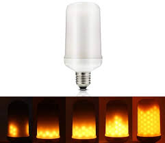 led burning light flicker light bulb effect bulb led