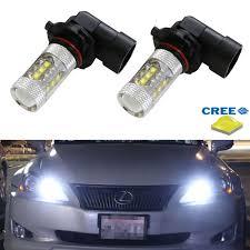80w cree high power 9005 led bulbs high beam daytime running light