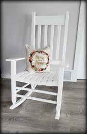 Find More Indoor/outdoor Classic White Wooden Rocking Chair - Like ... 10 Best Rocking Chairs 2019 Building A Modern Plywood Chair From One Sheet White Baby Rabbit With Short Ears Sitting On Wood Armchairs Recliner Ikea Striped Upholstered Mahogany Framed Parts Of Hunker Uhuru Fniture Colctibles Sold Rocker 30 The Thing I Wish Knew Before Buying For Our Buy Living Room Online At Overstock Find More Inoutdoor Classic Wooden Like Hack Strandmon Diy Wingback Interiors