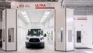 100 Gfs Trucking Oversized Ultra XL Truck Paint Booth From Global Finishing Solutions