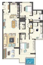 Elara One Bedroom Suite by Elara Las Vegas 1 Bedroom Suite Floor Plan Centerfordemocracy Org