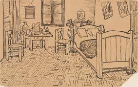 schlafzimmer in arles v vincent gogh beschreibung