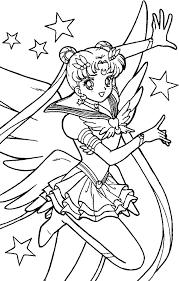 Sailor Moon Coloring Book Scans