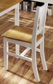 stuhl stühle esszimmerstuhl 2er set küchenstuhl esszimmer fichte massiv weiß lanatura