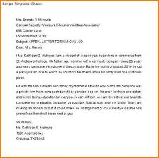 7 Financial Aid Appeal Letter Best Ideas Financial Aid