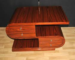 100 Art Deco Shape S Coffee Table Rosewood Modernist Furniture EBay