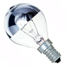 golf 40w e14 ses 240v bell lighting crown silver light bulb