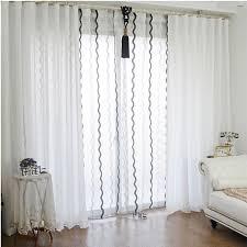 Ruffle Blackout Curtain Panels by Curtain Evelyn Linen Blend Ruffle Bottom Blackout Panel