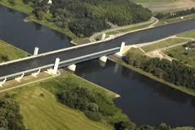 100 Magdeburg Water Bridge ElbeRiver Cycling Path Cuxhaven 10 Days