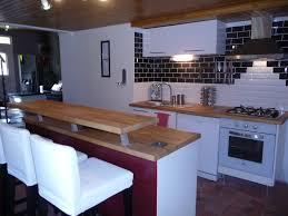 deco cuisine blanc et bois beautiful cuisine et blanche images design trends 2017