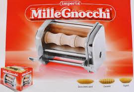 accessoire millegnocchi 3 sortes pour machine à pâtes imperia sp150