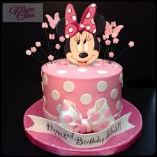 Minnie Mouse Mojees Cakes In 2019 Minnie Mouse Cake Minnie
