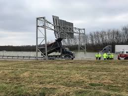 100 Two Men And A Truck Lexington Ky Dump Truck Hits Overhead Sign On I75 BC 36 News