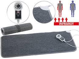 infactory heizmatte beheizbare infrarot fußboden matte
