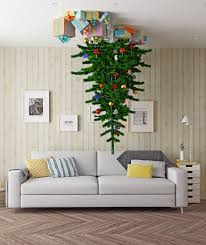 Upside Down Christmas Trees Are 2017s Hilarious Holiday Trend