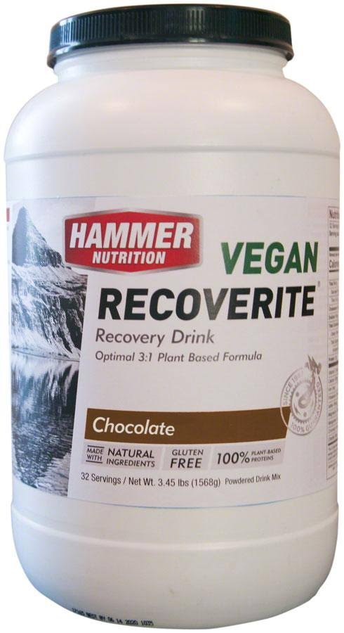 Hammer Nutrition Vegan Recoverite - 32 Servings - Chocolate
