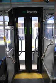 Good Question How are the back doors on buses controlled Metro