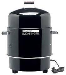 Brinkmann Electric Patio Grill by Brinkmann Smoker Ebay